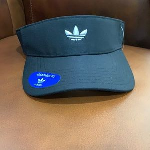 Adidas adjustable fit visor NWT